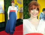 "Bryce Dallas Howard In Kate Spade New York - ""The Help"" LA Premiere"
