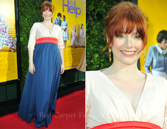 Fashion Police - Page 4 Bryce-Dallas-Howard-In-Kate-Spade-New-York-The-Help-LA-Premiere
