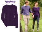 In Catherine, Duchess of Cambridge's Closet - In Ralph Lauren Black Label Cable-Knit Cashmere Sweater