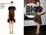 Chloe Moretz In Christopher Kane - Empire Big Screen Event