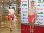 Claire Danes In Reed Krakoff - CBS, The CW And Showtime TCA Party