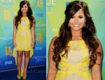 Demi Lovato In BCBG Max Azria - 2011 Teen Choice Awards