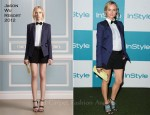Diane Kruger In Jason Wu - 10th Annual InStyle Summer Soiree