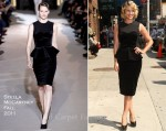 "Dianna Agron In Stella McCartney - ""Late Show with David Letterman"""