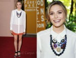 Elizabeth Olsen In T by Alexander Wang - Hollywood Foreign Press Association's 2011 Installation Luncheon