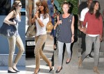 Celebrities Love...Current/Elliott Leopard Stiletto Jeans