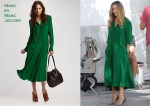 In Sarah Jessica Parker's Closet - Marc by Marc Jacobs Michaela Silk Shirt Dress