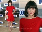 Shannon Woodward In ASOS - FOX All-Star Party 2011