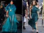 On The 'Papi' Music Video Set With Jennifer Lopez In Gucci