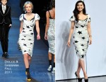 Fan Bing Bing In Dolce & Gabbana - L'Oreal & New Weekly Magazine Event