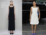 Frieda Pinto In Calvin Klein Collection - The Today Show