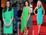 Red Carpet Trend: Green Dresses