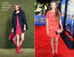 "Hailee Steinfeld In Louis Vuitton - ""Glee The 3D Concert Movie"" LA Premiere"