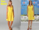 In Hilary Swank's Closet - Tory Burch Isobel Dress