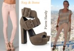 In LeAnn Rimes' Closet - Rag & Bone Skinny Jeans & Pierre Hardy Buckle Suede Sandals