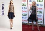In Jamie King's Closet - Valentino Silk Lace Dress