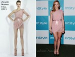 Jayma Mays In Zuhair Murad - 10th Annual InStyle Summer Soiree