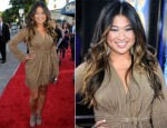 "Jenna Ushkowitz In Ramy Brook - ""Glee The 3D Concert Movie"" LA Premiere"