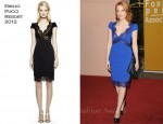 Jessica Chastain In Emilio Pucci - Hollywood Foreign Press Association's 2011 Installation Luncheon
