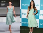 Jordana Brewster In Oscar de la Renta - 10th Annual InStyle Summer Soiree
