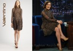 In Keira Knightley's Closet - Valentino Silk Feather Dress