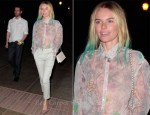 Kate Bosworth In Missoni - Coldplay Concert