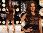 Katie Holmes In Azzedine Alaia - 2011 MTV Video Music Awards