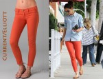 In Katie Holmes' Closet - Current/Elliott Stiletto Jeans