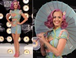 Katy Perry in Atelier Versace - 2011 MTV Video Music Awards