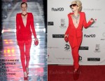 Lady GaGa In Alexandre Vauthier Couture - Atom Factory VMA Dinner