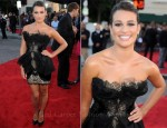 "Lea Michele In Marchesa - ""Glee The 3D Concert Movie"" LA Premiere"