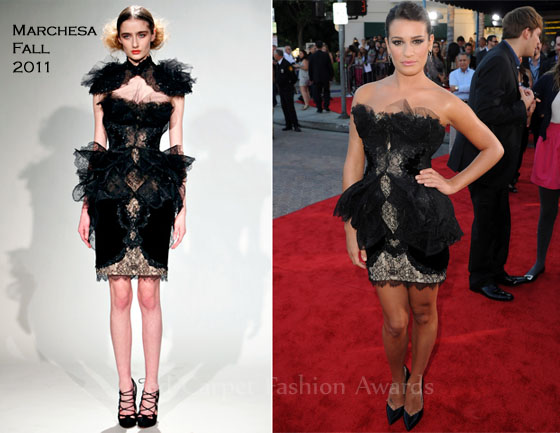 Marchesa Dresses Red Carpet Marchesa Dress on The Red