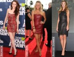 Red Carpet Trend: Leather Dresses