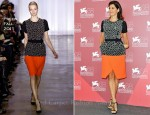 "Marisa Tomei In Preen - ""The Ides Of March"" Venice Film Festival Photocall"