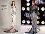 Miley Cyrus In Roberto Cavalli - 2011 MTV Video Music Awards