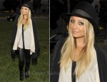 Nicole Richie In Winter Kate -  Band of Outsiders and Net-A-Porter Screening