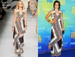 Nikki Reed In Etro - 2011 Teen Choice Awards