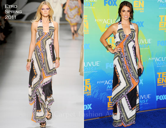 Fashion Police - Page 4 Nikki-Reed-In-Etro-2011-Teen-Choice-Awards