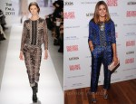 "Olivia Palermo In Tibi - ""Our Idiot Brother"" New York Screening"