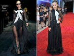 "Olivia Wilde In Gucci - ""Cowboys And Aliens"" London Premiere"