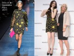 Pace Wu In Dolce & Gabbana - Swatch X Kidrobot Launch