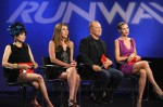 Nina Garcia In Lanvin & Heidi Klum In Roland Mouret - Project Runway Season 9