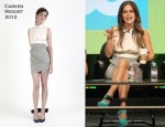 "Rachel Bilson In Carven - 2011 Summer TCA Tour for ""Hart of Dixie"""
