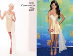 Selena Gomez In Erin Fetherston - 2011 Teen Choice Awards