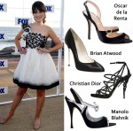 Celebrity Shoe Swap: Zooey Deschanel