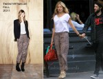 Sidewalk Style: Sienna Miller In Twenty8Twelve