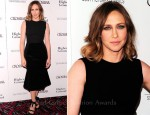 "Vera Farmiga In Stella McCartney - ""Higher Ground"" New York Premiere"