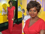"Viola Davis In Escada - ""The Help"" LA Premiere"