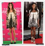 Who Wore Farah Khan Better? Ashley Tisdale or Rutina Wesley