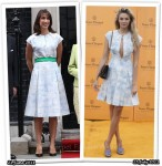 Who Wore Jonathan Saunders Better? Samantha Cameron or Tamsin Egerton